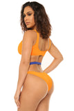 cut it out bikini-yellow - Icon