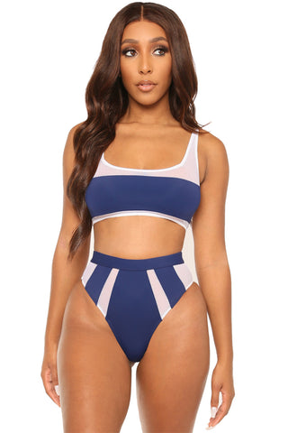 game over bikini-blue