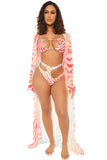 glow all out bikini-ombre zebra - Icon