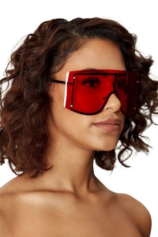 gangsta's paradise shades-red - Icon