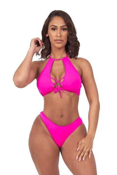 seaside retreat bikini-pink - Icon