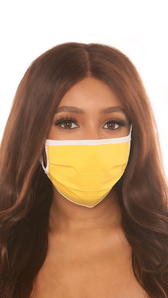 protective face mask II-yellow - Icon