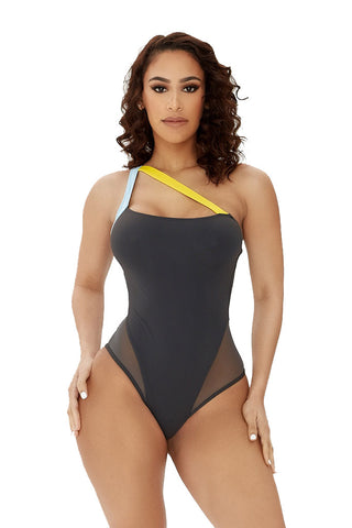 all eyes on me swimsuit-multicolor - Icon