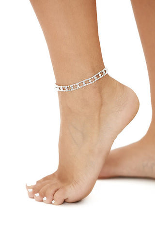 Shine bright anklet-silver - Icon