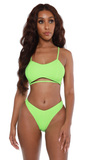 over the edge bikini-green