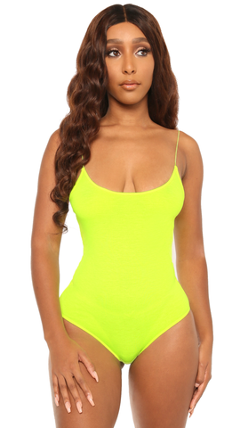 deal me in bodysuit-lime - Icon