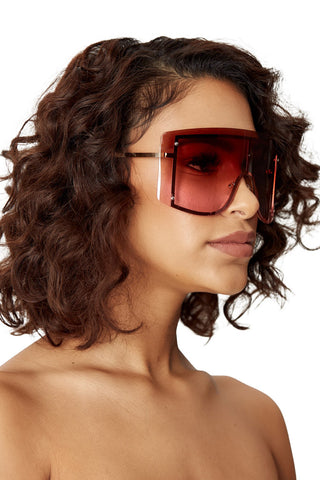 gangsta's paradise shades-brown/pink - Icon