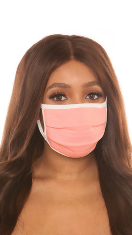 protective face mask I-pink - Icon