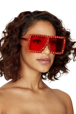 livin la vida shades-red - Icon