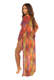 make an entrance cover up-orange print - Icon