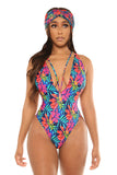 let's go to the beach swimsuit-floral