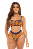 sunny daze bikini-orange print - Icon