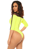 miami vice swimsuit-neon yellow - Icon