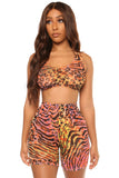 mystic set- animal print - Icon