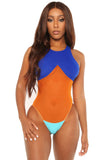 no turning back swimsuit-blue - Icon