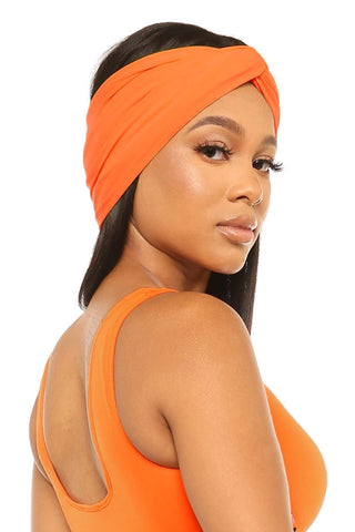 heads up headband-orange - Icon