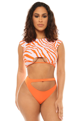 pier perfection set-orange zebra - Icon