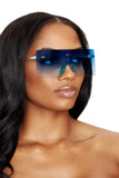 feelin shady shades- blue ombre - Icon