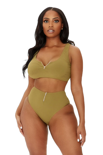 seal the deal bikini-olive - Icon