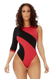 sea you on the other side swimsuit-red - Icon