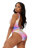 secret of love swimsuit-multicolor animal - Icon