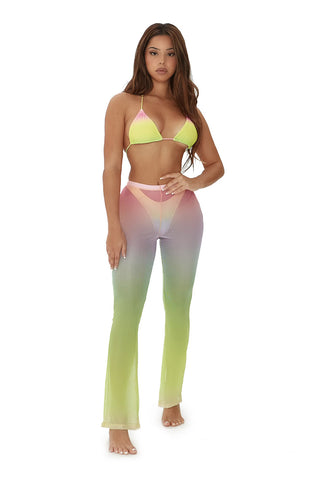 shades of me pant set-ombre print - Icon