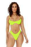 soak it up bikini-neon yellow - Icon