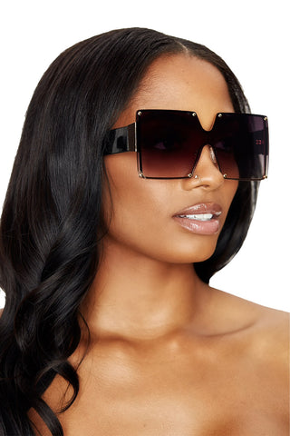 be mine shades- black
