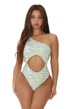 sunny side swimsuit-zebra print - Icon