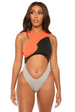 two-faced monokini-orange - Icon
