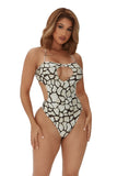 unapologetic swimsuit-giraffe print - Icon