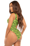 you're in our circle monokini-green - Icon