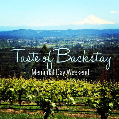 Come taste with us this Memorial Day Weekend!