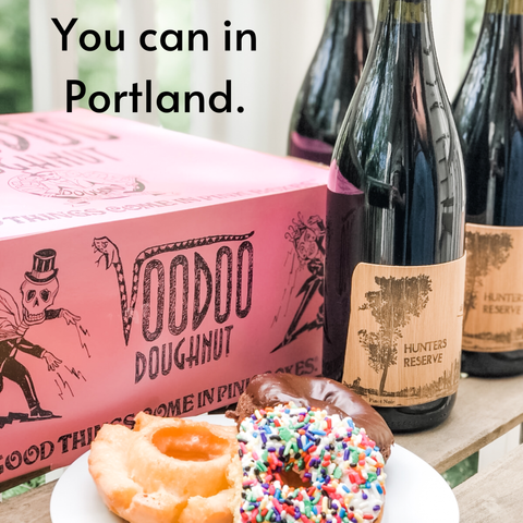 Voodoo Doughnut + Backstay Wine Pairing Package for Mother's Day