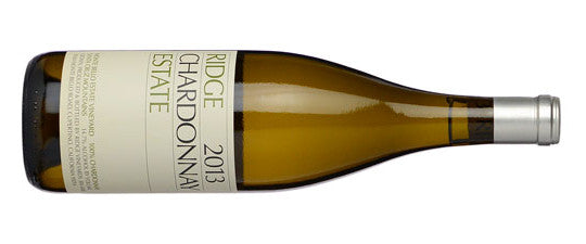 Ridge Monte Bello Estate Santa Cruz Mountain Chardonnay 2013