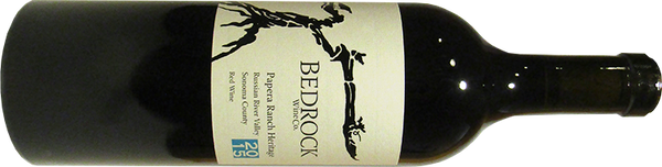 Bedrock Papera Ranch Russian River Heritage Red 2015