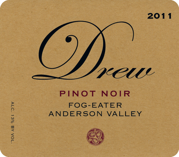 Drew Fogeater Anderson Valley Pinot Noir 2013