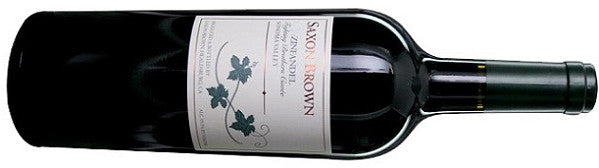 Saxon Brown Zinfandel Fighting Brothers Cuvee Sonoma Zinfandel 2010