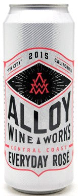 "Alloy Wine Works ""Everyday Rose"" Central Coast 2016"