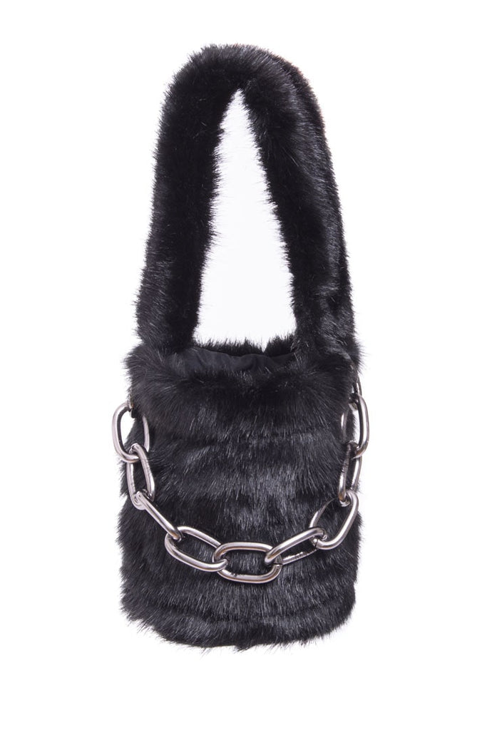 Lana Kane Fur Bag (Detachable Chain)