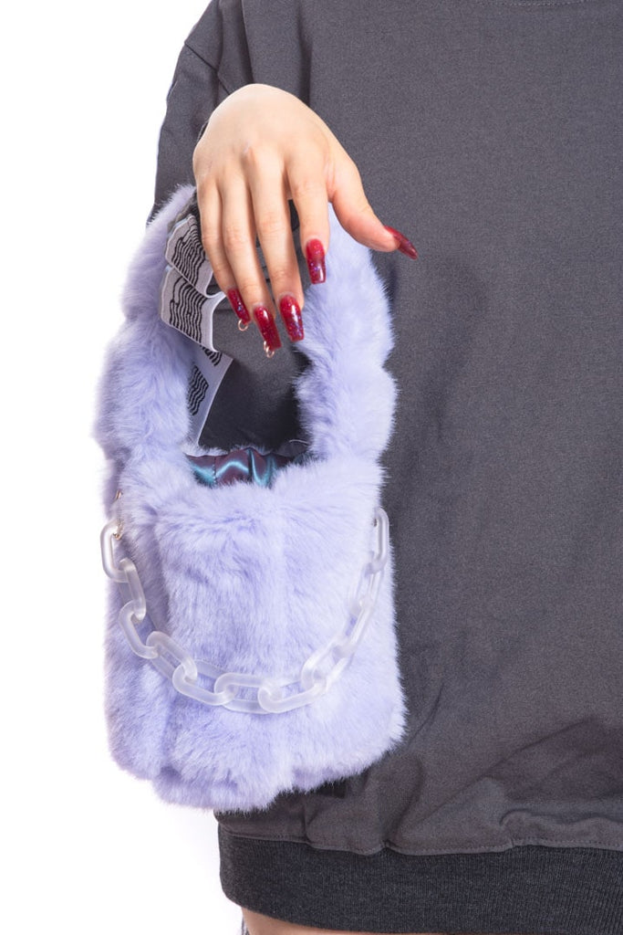 Lumpy Space Princess Fur Bag (Detachable Chain)