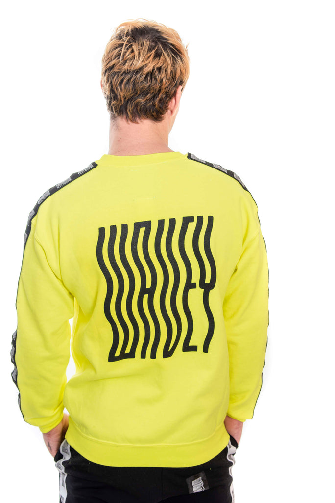 Neon Yellow Logo Sweater