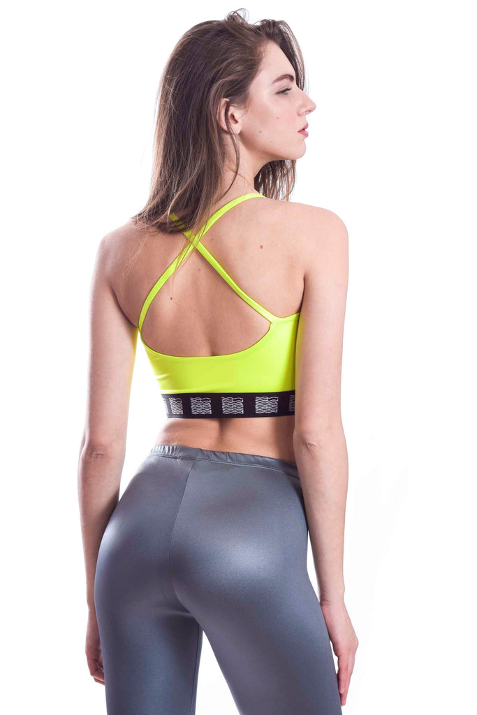 Neon Yellow Sporty Spice Top