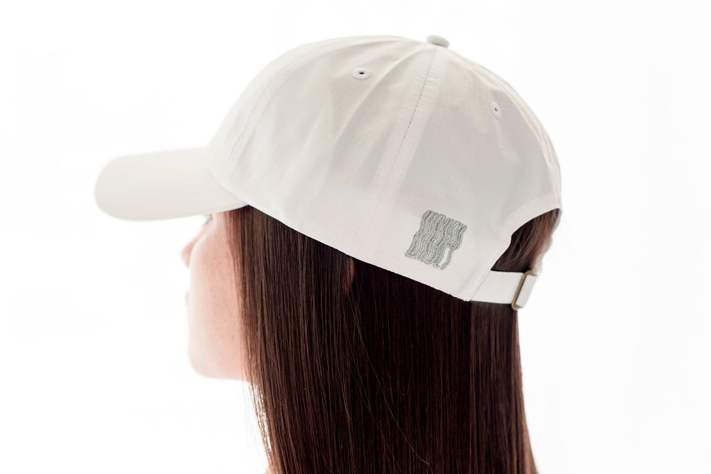 White Dry Fit Cap