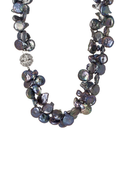 Diane Double Strand Necklace