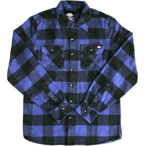 Dickies Sacremento Flannel Shirt / Blue