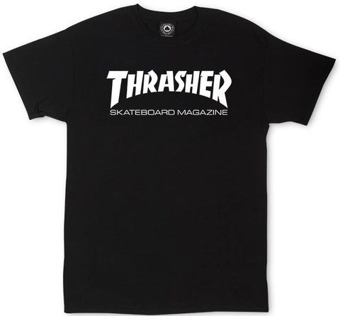 Thrasher skate Mag Logo Tee / Black / Youth