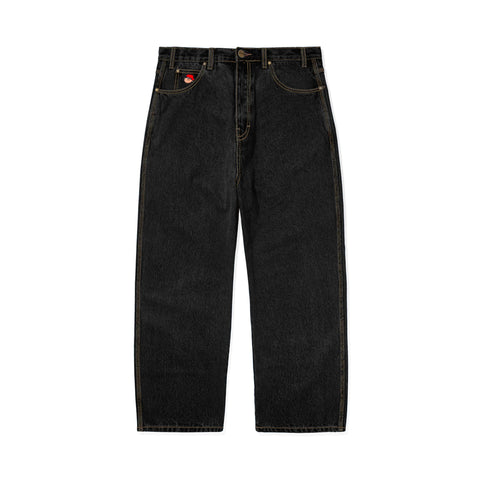 Butter Santosuosso Denim Pant / Washed Black