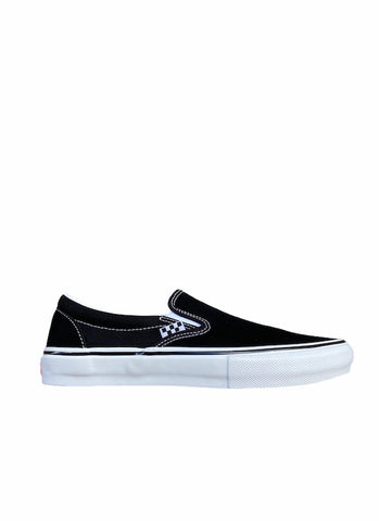 Vans Skate Classic Slip-On | Black / White