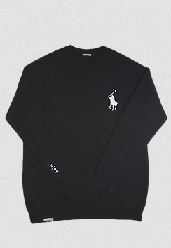 99 Degrees Reaper Crewneck / Black
